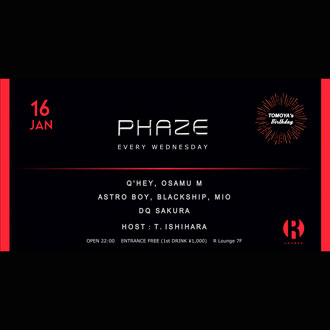 PHAZE  -TOMOYA's BIRTHDAY-