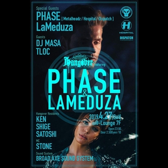 Hangover featuring PHASE & LAMEDUZA
