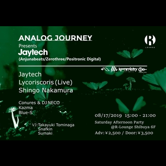 Analog Journey presents Jaytech