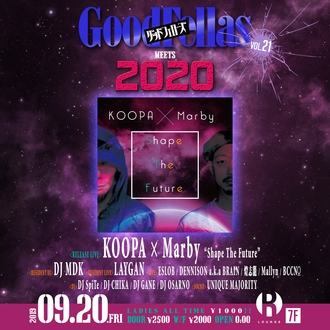 GOOD FELLAS vol.21 meets 2020