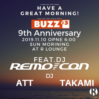 BUZZ×3 9TH ANNIVERSARY