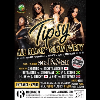 TIPSY - ALL BLACK GROW PARTY -