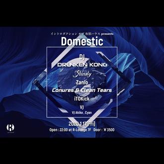 イントロダクション オブ 和製ハウス presents Domestic