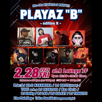 "PLAYAZ""B"" -edition R-"