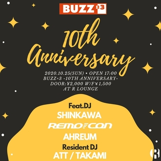 BUZZ×3 -10TH ANNIVERSARY-