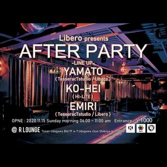 Libero presents AFTER PARTY