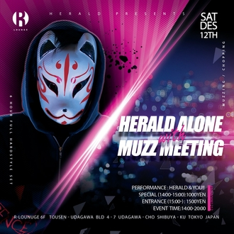 HERALD ALONE with MUZZ MEETING