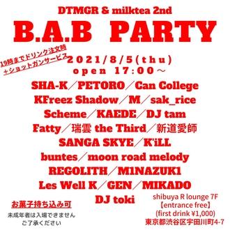 B.A.B PARTY